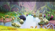Cloudy Change Of Meat Ball 2 : Low Poly Ver by RudiansyahW