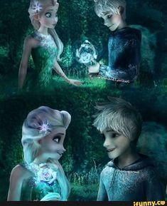 Disney Princess Frozen, Elsa Frozen, Princess Luna, Disney Couples, Cute Couples, Jack Frost And Elsa, Princesa Disney, Queen Elsa, The Big Four