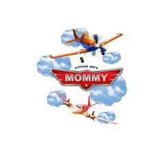 Planes Birthday Shirt Disney Planes Shirt Front and Back