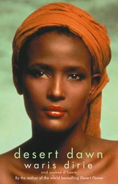 This is Waris Dirie.  She is a former model and a writer.  She was circumcised without anesthetics at the age of 5 and got infected and nearly died.  She ran away from home when she was 13 to escape being married to an old man.  Later, she became a model and writer, and she works hard to stop girls from being forced to endure circumcision and getting hurt and killed.