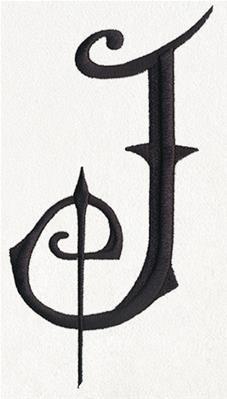 Fantasy Letter J Uppercase Image Monograms Pinterest