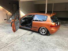 #Honda #Civic #Eg #Hatch #Modified #Slammed #Stance #JDM