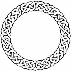 Celtic Circle Free Tattoo Stencil - Free Tattoo Celtic Circle Designs For Men - Customized Celtic Circle Tattoos - Free Celtic Circle Tattoos - Free Printable Celtic Circle Tattoo Stencils - Free Printable Celtic Circle Tattoo Designs Celtic Symbols, Celtic Art, Ancient Symbols, Celtic Mandala, Celtic Dragon, Circle Tattoo Design, Circle Tattoos, Circle Design, Arte Viking