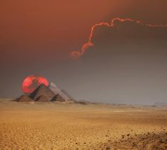 Ancient Civilization - Development of Pyramids: Egypt's pyramids served as tombs for her dead kings. The focus of a complex of ritual buildings, the pyramid was the magical powerhouse where the mummified pharaoh would attain eternal life. The first pyramid was Djoser's Step Pyramid, built not long after Egypt had become a unified land (in approx. 3000 BC). The Great Pyramid of Khufu, at Giza, was raised a century later. - By Dr. Joyce Tyldesley