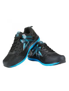 Black Blue Sports Shoes  - Buy Online Black Blue Sports Shoes. Men Sports Shoes are known for their fun, contemporary design combined with rugged durability that complement your sports and laidback look. Easy to wear Vostro Sports Shoes consists fashion and comfort with extra ordinary unique range of design and colors.