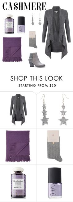 """""""Cashmere Day"""" by summernight1967 ❤ liked on Polyvore featuring Autumn Cashmere, Sofiacashmere, Ted Baker, Origins and NARS Cosmetics"""
