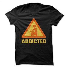 Addicted - #designer t shirts #design shirt. BUY NOW => https://www.sunfrog.com/Geek-Tech/Addicted-68906876-Guys.html?60505