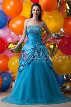 Gorgeous Ball Gown Strapless Sequins Maria Anastasia's Ball Gown/Quinceanera Dress