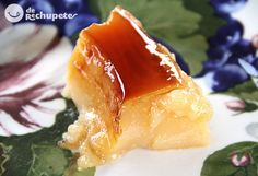 Tocino o tocinillo de cielo. Un postre celestial. Cuban Desserts, Sweet Desserts, Desert Recipes, Mexican Food Recipes, Sweet Recipes, Spanish Recipes, Cuban Cuisine, Spanish Cuisine, Breaded Steak