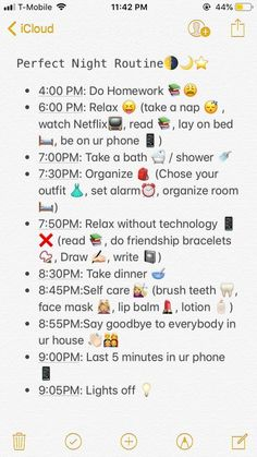 School Routine For Teens, Morning Routine School, Night Time Routine, School Routines, Sunday Routine, Before School Routine, Morning Routine Printable, Evening Routine, Middle School Hacks