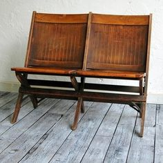 awesome wooden love seat for the porch