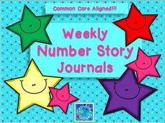 Find me on Pinterest!  Cez~Anne DesignsOptions!!!  Just Print and Go!Common Core Aligned!This packet include offers over 20 weeks of math number stories for students to solvethats over 100 number stories!   Number stories are prepared to address the Common Core Standards: CCSS.Math.Content.1.OA.A.1, CCSS.Math.Content.1.OA.B.4, CCSS.Math.Content.1.OA.C.5, CCSS.Math.Content.1.OA.D.8.