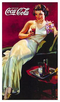 Vintage Coca Cola ad.