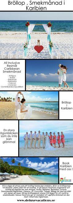 Deluxe Vacations AB erbjuder resor, bröllop och smekmånad paket till Karibien gyllene, vackraste platser. Ring - 08-748 00 15 för mer information eller besök vår hemsida - www.deluxevacations.se NU!