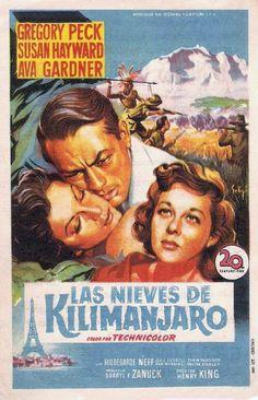 1952 - Las nieves del Kilimanjaro - The Snows Of Kilimanjaro - tt0045162