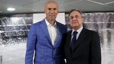 Zinedine Zidane replaces Rafael Benitez as Real Madrid coach - BBC Sport
