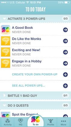 SuperBetter gamify's the process of developing habits and achieving goals - LIVE GAMEFULLY SuperBetter increases resilience - the ability to stay strong, motivated and optimistic even in the face of difficult obstacles. Playing SuperBetter makes you more capable of getting through any tough situation—and more likely to achieve the goals that matter most to you. Proven results in just 10 minutes a day.