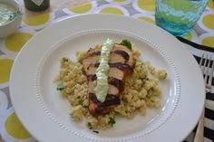 Blackened Chicken with Cilantro Lime Quinoa