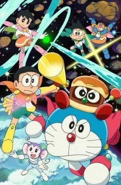 The Spring 2015 Anime Season is here! And here's a list of the brand new anime titles that are coming with it! Anime series, OVA, ONA, OAD, and movies - you've got it! Cartoon Wallpaper, Hp Movies, Iphone Cartoon, Space Hero, Doraemon Cartoon, Doraemon Wallpapers, Anime Titles, Anime Fnaf, Usui