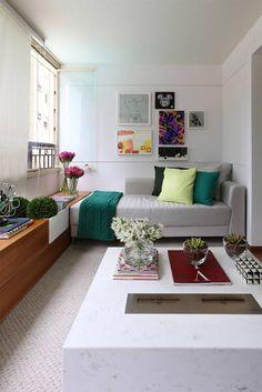 Living (di Casa 2 Arquitetos)