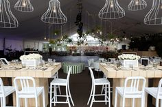 Marquee - Catering by food&desire with styling and flowers by Where the Grass is Green.
