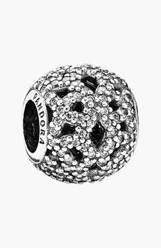 PANDORA 'Shimmering Lace' Open Bead Charm available at #Nordstrom