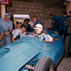 1956 GP Francji (Maurice Trintignant) Bugatti T251