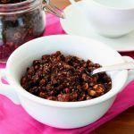 Low Carb Chocolate Hazelnut Granola