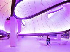 Espacios para las matemáticas #Repost @coamadrid  #Internacional: Inaugurada la Galería de Matemáticas de @zahahadidarchitects en Londres Foto: @lukehayes_uk  #COAM #fucoam #uk #london #arquitectura #architecturelovers #archlovers #archaddicts #architecturephotography #building #urban #design #gallery #zahahadid #picoftheday
