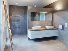 Außergewöhnliches Gefühl kann Ihnen nur ein fugenloses Bad vermitteln!