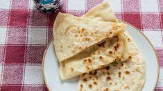 Dumplings from the pan - Gozleme - Meine Rezepte - Turkish Recipes, Ethnic Recipes, Dumplings, Brunch, Bread, Snacks, Cooking, Fett, Baked Goods
