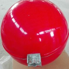 Power line aircraft marker ball, Diameter Fiberglass Warning Ball Sphere Fiber Optic Cable, Kitchen Aid Mixer, Markers, Red And White, Aircraft, Balls, Wire, Sharpies, Aviation