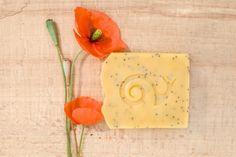 Mydło naturalne - peeling z makiem - mydlofaktura - Mydła
