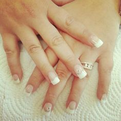 Natural french tips