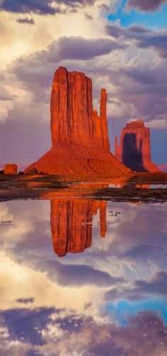 Mitten Shadow in Monument Valley, Arizona, USA by Suzanne Mathia