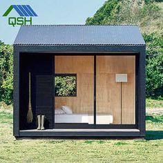 These new MUJI huts take minimalist living to the next level - MUJI hut - Backyard Office, Outdoor Office, Backyard Studio, Backyard Sheds, Garden Office, Outdoor Rooms, Garden Huts, Garden Cabins, Modern Shed