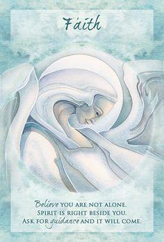 """Faith"" Magical Times Empowerment Cards par Jody Bergsma"