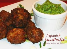 Delectable Homemade Spanish Meatballs