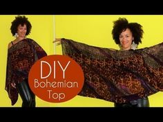 DIY Fall Clothes   How To Make a Helmut Lang Inspired Asymmetrical Poncho Sweater - YouTube