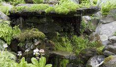Lip Rock Waterfall at Innisfree Garden