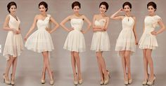 Gotta love Etsy!! this is a must for my bridesmaid dresses - differentiate <3  cheap bridesmaid dress cheap bridesmaid dress short by okbridal, $99.99