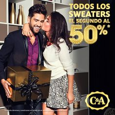 ¡No te pierdas la #promoción!, De todos los #sweaters de la tienda, el segundo es con 50% de #descuento. @eldoradoslp
