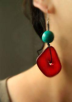 Resultado de imagen para irregular tagua necklace