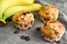 Zelf lekkere én gezonde bananenmuffins maken? Probeer ons recept voor Bananenmuffins met chocolade. Probeer voor ontbijt of als snack! Cakepops, Donuts, Healthy Snacks, Healthy Recipes, Food Blogs, High Tea, Brunch, Goodies, Food And Drink