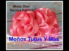 FLOR FACIL CON LISTON Paso a Paso EASY TO MAKE RIBBON FLOWER Step By Step Tutorial DIY How To PAP - YouTube