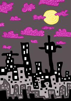 Under the moonlight by Venla-Ilona Moonlight, Movies, Movie Posters, Art, Art Background, Film Poster, Films, Popcorn Posters, Kunst