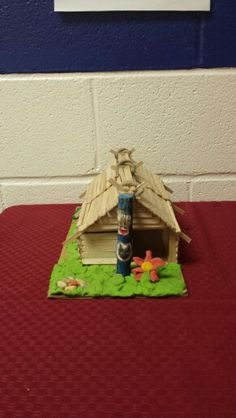 School project indian houses
