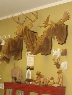 A great collection of Cardboard Safari mounts