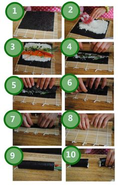 Step-by-Step Raw Veggie Sushi Wraps | Edible Evolutions