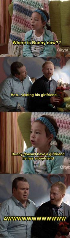 He has a boyfriend…